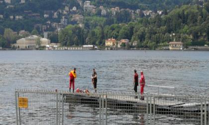 Giovane sta per annegare nel lago di Como: salvato da un poliziotto ma le condizioni restano gravi