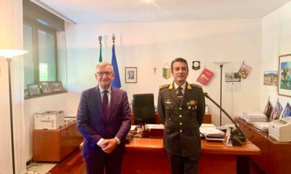 Il Prefetto incontra il nuovo comandante delle Fiamme Gialle di Lecco