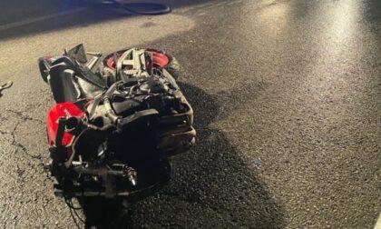 Incidente ad Albavilla, grave un motociclista