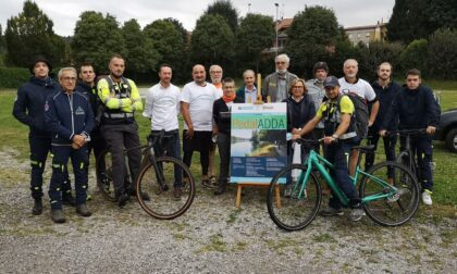 PedalAdda: nonostante il maltempo coraggiosi in bici sull'alzaia