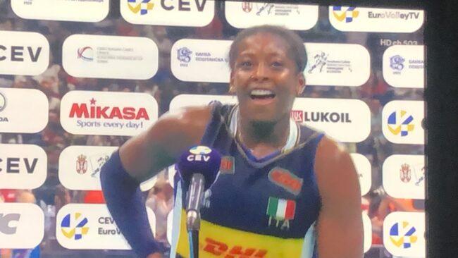 L'Italia conquista anche gli Europei di volley, Miriam Sylla