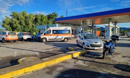 Scontro auto moto sulla Provinciale