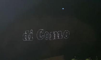 """""""Questa montagna fa parte della Provincia di Como"""": la scritta luminosa sul San Martino fa impazzire i lecchesi (video)"""
