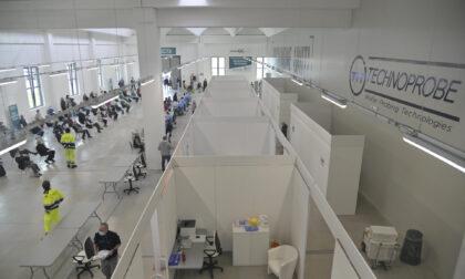 Chiude il centro vaccinale Technoprobe: 159.669 somministrazioni in 6 mesi