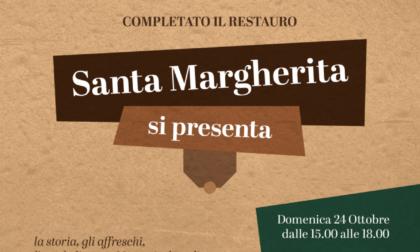 Casatenovo: Santa Margherita si presenta a restauro completato