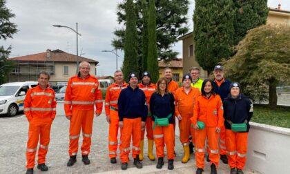 """Operazione """"Fiumi sicuri"""", volontari della Protezione Civile al lavoro"""