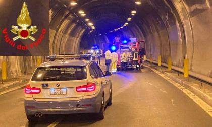 Inferno in  galleria: è Marco Tagliabue il motociclista morto carbonizzato